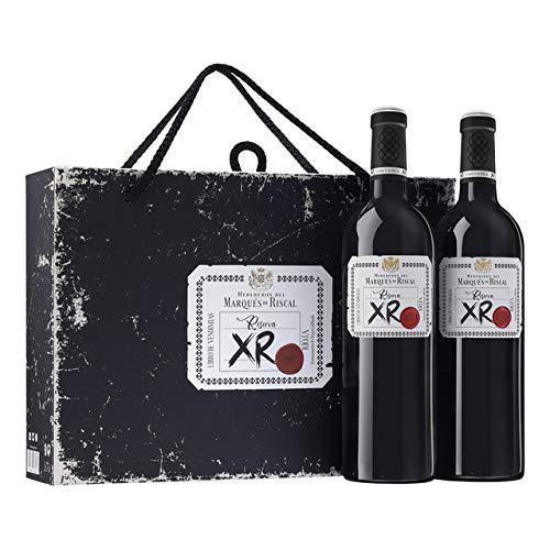 Vino Tinto Marqués de Riscal Reserva XR - D.O. Rioja - Estuche regalo 2 botellas x 75cl.