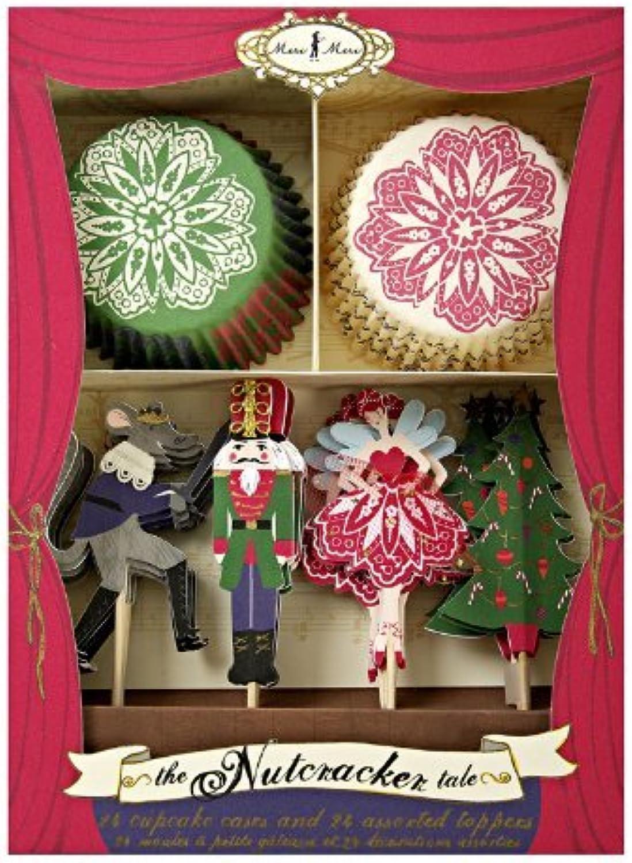 venta directa de fábrica Meri Meri Meri Meri Kit de cupcakes Nutcracker  varios tamaños