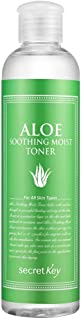 [SECRET KEY] Aloe Soothing Moist Toner 8.39 fl.oz. (248ml) - Hypoallergenic Moisturizing and Soothing Toner for Sensitive ...