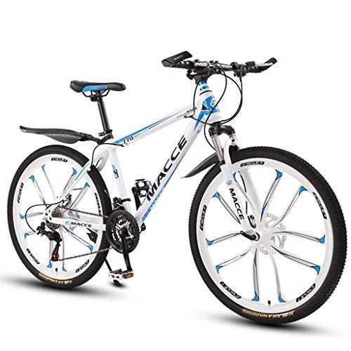 BOC Mountainbike 26 Zoll Scheibenbremse Stoßdämpfer Fahrrad 21 Geschwindigkeit 24 Geschwindigkeit 27 Geschwindigkeit Studentenauto Kinder Fahrrad Mountainbike, A, 21 Geschwindigkeit,A,21-Gang