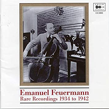 Rare Recordings 1934 to 1942