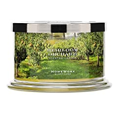 Heirloom Orchard Homework by Harry Slaking 4 wick candle – Our 4 wick fragranced candle fills your entire home with the finest luxury ambience. Fragrance Notes: Apple, Bartlett Pear, Oakwood, Fig Homework masterfully blended oils for a long-lasting f...
