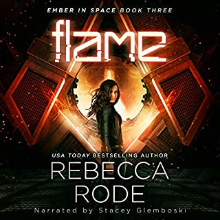 Flame audiobook cover art