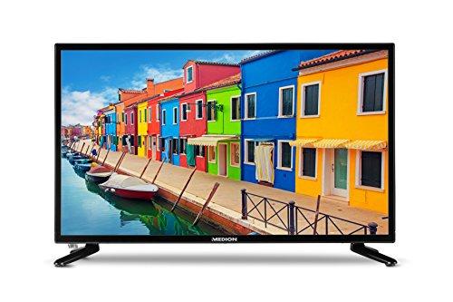 MEDION P12304 59,9 cm (23,6 Zoll) Full HD Fernseher (Triple Tuner, DVB-T2 HD, integrierter DVD-Player, Mediaplayer, HDMI, CI+, USB,)
