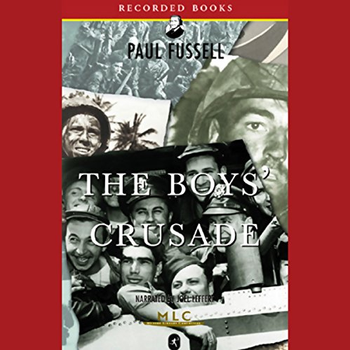 The Boys' Crusade audiobook cover art