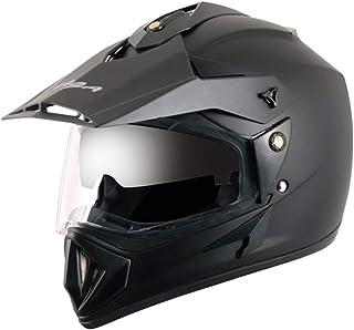 Off Road D/V Black Helmet-L