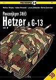 PanzerjaGer 38(t) Hetzer & G-13: Volume 2 (Photosniper 3d, Band 17) - Mariusz Motyka