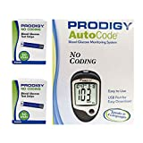Prodigy AutoCode® Talking Blood Glucose Meter Plus 2 Boxes (100ct) Prodigy Test Strips