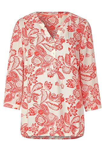 Cecil Damen Bluse mit Blumenmuster Light Alabaster beige M