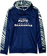 Officially licensed by the NFL High quality, screen print team logo Cozy interior with long sleeves and rib cuffs Machine Wash Cold, Tumble Dry Low Since the 1980's, Zubaz has become known for it's adventurous design,high product quality, and amazin...