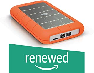 LaCie Rugged Triple 2TB External Hard Drive Portable HDD – USB 3.0 FireWire 800 compatible for Mac and PC Computer Desktop Workstation Laptop (LAC9000448) (Renewed)