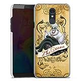 Coque Compatible avec LG Q7 Étui Housse Produit sous Licence Officielle Disney Ariel
