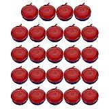 Generic 24 unids Castañuelas niños niños niños educación música juguete dedo Castañuelas Orff Instrumento, varios colores