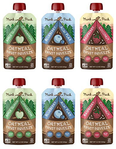 Munk Pack Oatmeal Fruit Squeeze