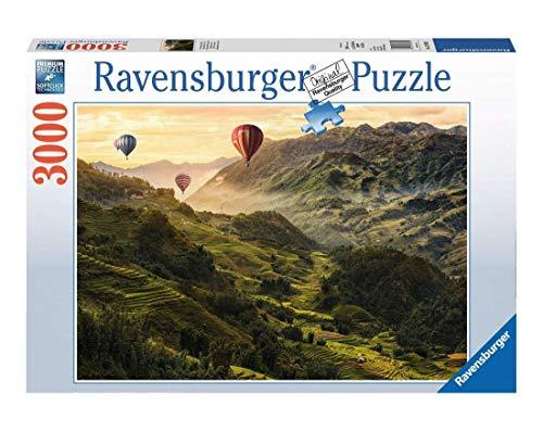 Ravensburger Puzzle 17076 - Reisterrassen in Asien - 3000 Teile