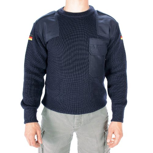 Mil-Tec BW Pullover 80/Wo 20/Pol dunkelblau Gr.54