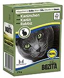 BOZITA Nassfutter BOZITA HÄPPCHEN in Soße mit Kaninchen 1 x 370g für Katzen