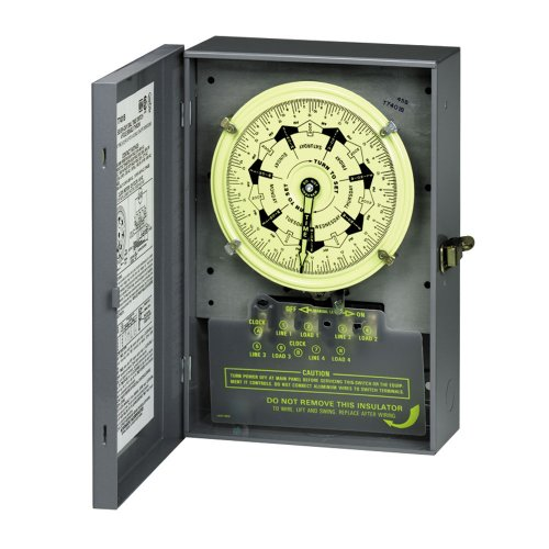 Intermatic T7401B Mechanical Time Switch, Gray