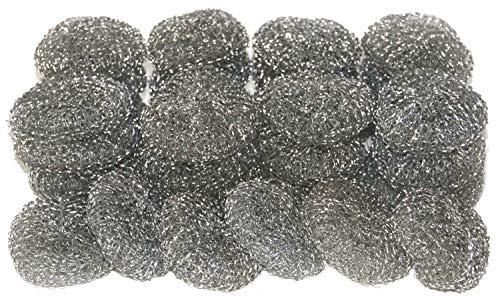 30 Stück Metalltopfreiniger Topfreiniger Metallschwamm Topfkratzer