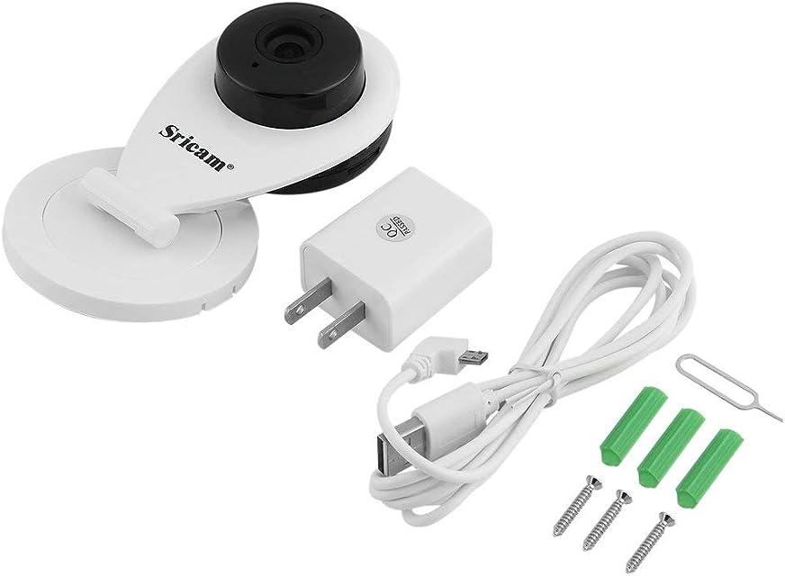 Dynamovolition Mini cámara WiFi 720 P Cámara IP Monitor de bebé Videocámara Alimentación USB Audio bidireccional CCTV Cámara IP Corte IR Visión Nocturna