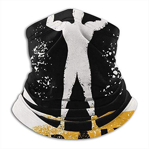 GWrix Jogging-haarband, hoofdband, winter-halsdoek, harde barbell voor heren, balaclava, buishalsband, windbestendig