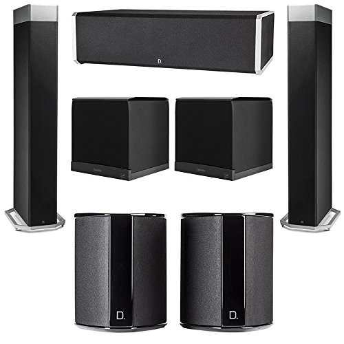 Buy Bargain Definitive Technology 5.2 System with 2 BP9080X Tower Speakers, 1 CS9060 Center Channel ...