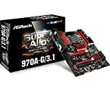 ASRock 970A-G/3.1 Socket AM3+/ AMD 970/ DDR3/ Quad CrossFireX/ SATA3&USB3.1/ M.2/ A&GbE/ ATX Motherboard