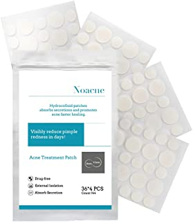 Acne Patches Pimple Patches Acne Treatments Spot Patches Acne Stickers Acne Healing Patch (144 count)