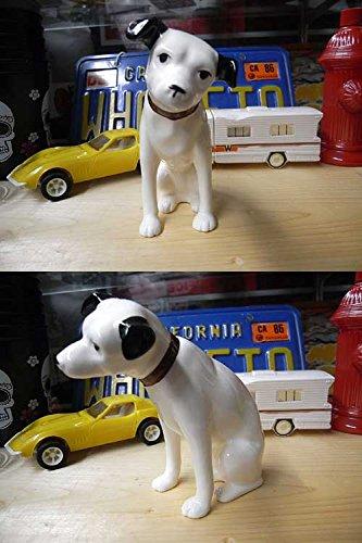 【正規ライセンス品】ビクター ニッパー犬 陶器置物 13cm / NIPPER ディスプレー
