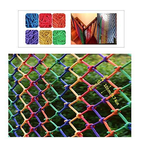 Best Review Of Child Safety Protection Netting Balcony Stairs Fence Net Climbing Nylon Net  Colors ...