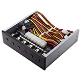 6 Hard Disk Control System Intelligent Control Management System HDD SSD Switch di alimentazione con 5.25 CD-ROM