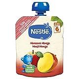 Nestlé Bolsita Puré Manzana Mango, A Partir De Los 6 Meses, 90 G - Pack de 16 bolsitas 90g