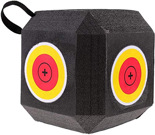 3D Cube Foam Target,Espuma Objetivo De Tiro con Arco,Foam Target Reutilizable,Gran Diana de Tiro al Arco para Todos los Tipos de Flechas.
