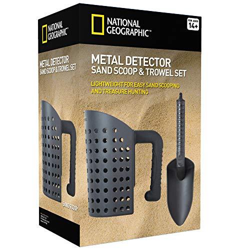 Maurerkelle und Mehlsieb Werkzeug-Set für Metallortung und Schatzsuche