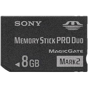 """ソニー 著作権保護機能搭載IC記録メディア""""メモリースティック PRO デュオ"""" 8GB MS-MT8G 2T"""