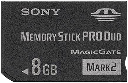 """SONY 著作権保護機能搭載IC記録メディア""""メモリースティック PRO デュオ"""" 8GB MS-MT8G 2T"""