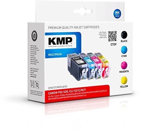 KMP Multipack für Canon Pixma iP3600/iP4600, C72V