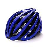 Ultra ligero - Eco-Friendly Super Light Casco Integralmente Bike, Casco Ligero Ligero Mountain Bike Cascos Para Hombres Y Mujeres ( Color : Blue L )