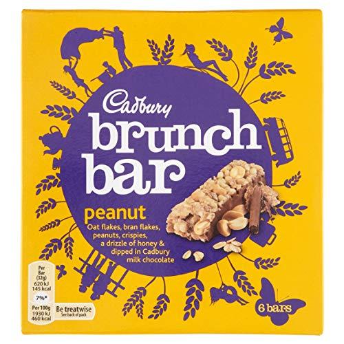 Original Cadbury Brunch Bar Peanut 6 Pack Imported From The UK England