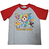 妖怪ウォッチ NEXTPETS 半袖Tシャツ グレー 110cm