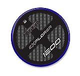 Adhesivo Resina Protección Cárter compatible con Triumph Tiger Explorer 1200-2011-2015 Metal Azul