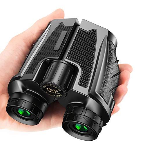 LTH-GD HD-Teleskop 10x25 BAK4 Prisma-Fernglas-Hochleistungs-Zoom 114m / 1000m Fernglas-Jagdteleskop für Sport-Vogelbeobachtung Accessories for Astronomical telescopes