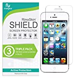 RinoGear iPhone SE / 5 / 5S / 5C Screen Protector [2-Pack] Case Friendly Screen Protector for iPhone SE / 5 / 5S / 5C Accessory Full Coverage Clear Film