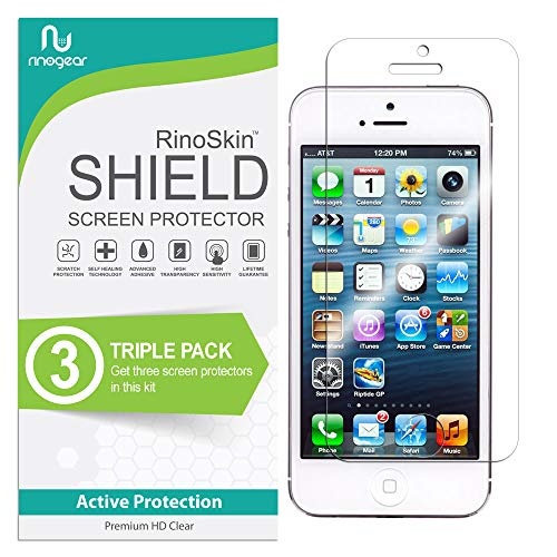 RinoGear iPhone SE / 5 / 5S / 5C Screen Protector [2-Pack] Case Friendly...