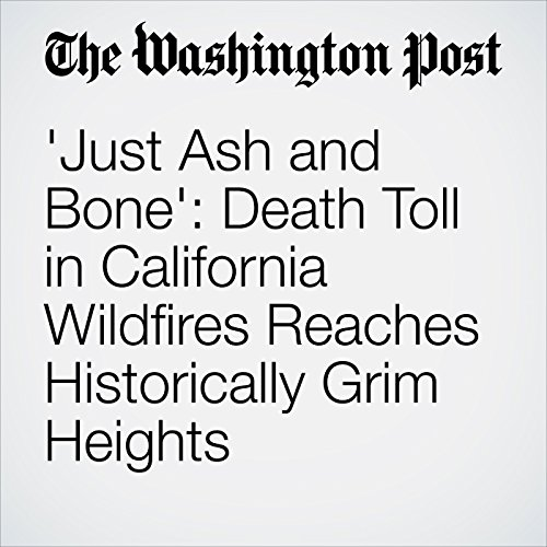 'Just Ash and Bone': Death Toll in California Wildfires Reaches Historically Grim Heights copertina