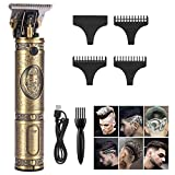 LIDIWEE T-Blade Trimmer, Electric Hair Clipper Cordless Rechargeable Pro Li Outliner Grooming Kits