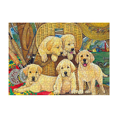 Subfamily 1000 pcs Hund Classic Puzzles, Jigsaw Puzzle, Frame Puzzle, Marvel Puzzle, Impossible Puzzle Boxes for Adults, Children, Skill Game for The Whole Family
