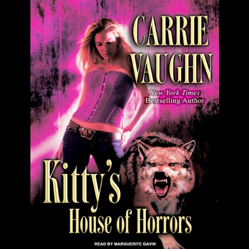 Kitty's House of Horrors audiobook cover art