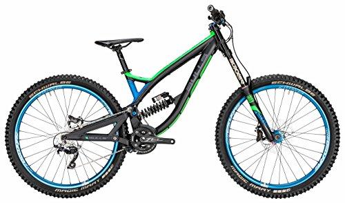 Bulls Wild Core 27.5 10K schwarz-grün-blau2016