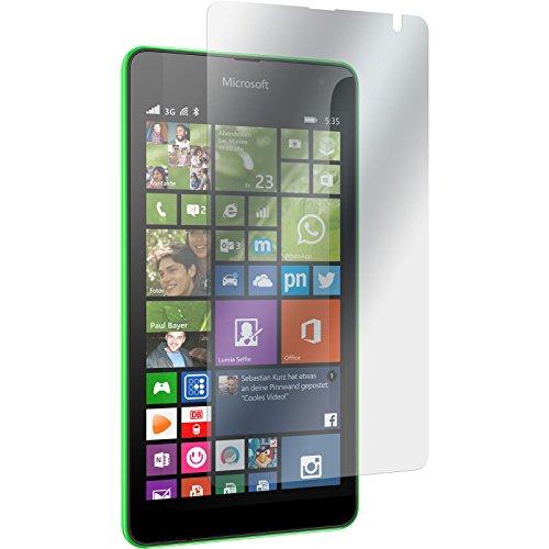 PhoneNatic 4er-Pack Bildschirmschutzfolien klar kompatibel mit Microsoft Lumia 535